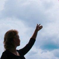 Общение с небом. Автопортрет :: Ксения OKDMUSE