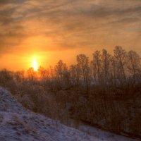 Утро....падал снег :: Cергей Щагин