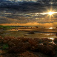 Закат..камни :: Cергей Щагин