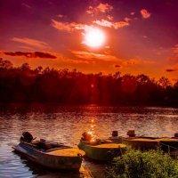 Закаты не показывают жуть, они наследники всех наших вдохновений. :: Виктор Малород