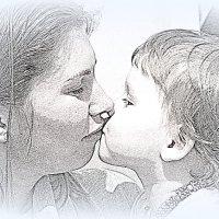 Длинные реснички, Не мои… но все же, взгляд моей малышки мне всего дороже. :: A. SMIRNOV