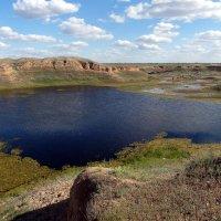 озеро в степи :: Aндрей Антонов
