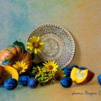 Раскрашу осень акварелью :: Лидия Суюрова