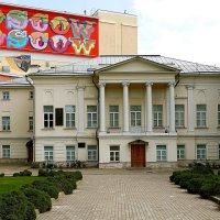 В этом доме родился Сергей Боткин, чье имя носит Клиническая инфекционная больница. :: Татьяна Помогалова