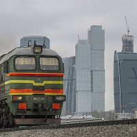 Москва. Около Сити. :: Игорь Олегович Кравченко