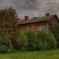 Рябина у дома :: Cергей Кочнев