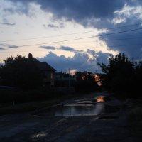 Поздний вечер после дождя :: Галина