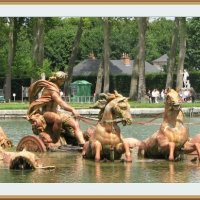 """Фонтан Аполлон как """"жертва"""" нехватки воды! Версаль, Франция :: Валентин Соколов"""