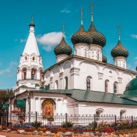 Ярославль Церковь Спаса-на-городу. XVII век. :: Виктор Орехов