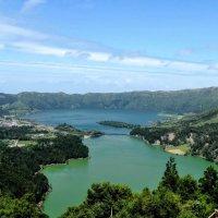 Озеро Зелёное и озеро Синее. :: Elena Ророva