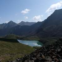 вид с перевала Шумак на Восточный Саян :: Ларико Ильющенко