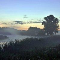 Туманное утро на реке :: Валерий Иванович