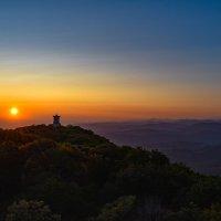 Гора Ахун на закате. ⛰️ :: Сергей Михайлович