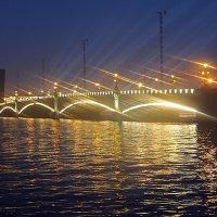 Разведенный Троицкий мост :: Ольга И