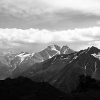 Вид с горы Эльбрус :: Наталья Панова