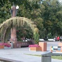 Арочный вход в парк :: Galina194701