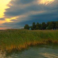 закат у  воды :: серега Васильев