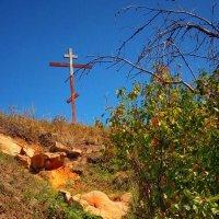 """""""Видишь там на горе возвышается крест..."""" Каменец,Покровский район,Орловская область :: Леонид Абросимов"""