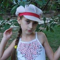 Девушка в кепочке :: Вячеслав Битяченко