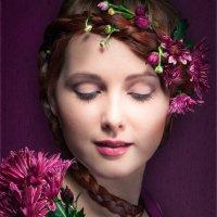 В лиловых тонах :: Елена Шацкая