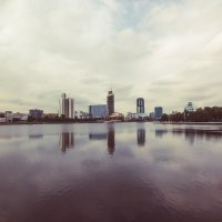 Вид на Екатеринбург сити (когда он правда еще там появится :)) :: Дмитрий Бугров