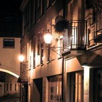 Ночная улица Вильнюса :: Maria Bushko