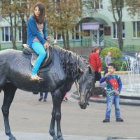 Лошадь и дети... :: Nonna