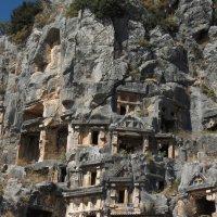 Турция Скальные захоронения :: Елена Шидловская
