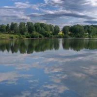 Плывут облака...то ли по небу, то ли по воде... :: Татьяна Аистова