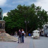 одесса.приморскиий б-р,памятник ришелье(панорама) :: Александр Шурпаков