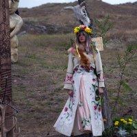 девушка в селе :: Юля Мельникова