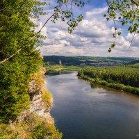 Вид с камня Говорливый. Река Вишера. Пермский край. :: Олег Косенко