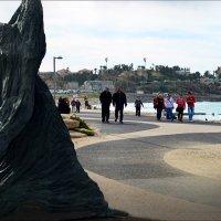 Вид на старый порт, Израиль :: Борис Херсонский