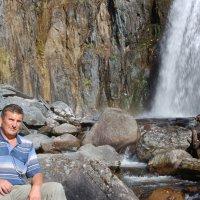 На водопаде Корбу :: Александр Куксин