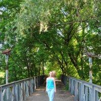 мост в парке Горького :: Манана Сафонова