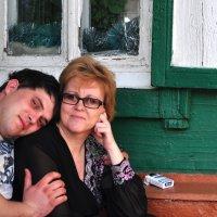 Мама и сын :: Оксана Гуляева