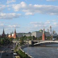 Погожий день в Москве :: Анна Глухова