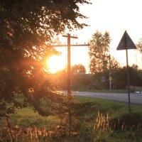 Вечернаяя дорога домой :: Александра Сучкова