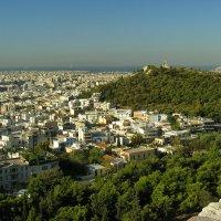 Афины. Вид с Акрополя.Athens. View from the Acropolis. :: Юрий Воронов