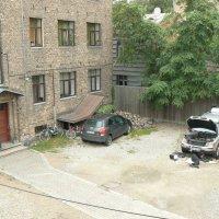Вид из гостиничного окна :: Иван Семин