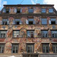 Австрия. Прогулка по Грацу. Дом с фресками. :: Надежда Лаптева