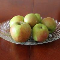 Яблоки на столе :: Надежд@ Шавенкова