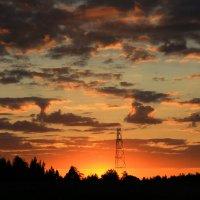 Август, закат :: виктор ушаков
