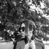 Девушка с сигаретой :: Мария Константинова