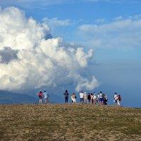 Разговор с облаком :: Ольга Голубева