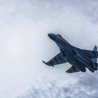 Пилотажная группа «Соколы России» покоряет просторы над Амуром. :: Виктор Иванович