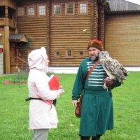 Беседа с птицей :: Дмитрий Никитин