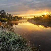 Утро на реке Кильмезь :: Вячеслав Ложкин