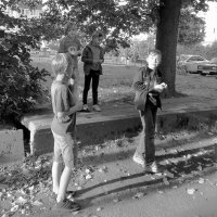 Четыре птенчика :: Фотогруппа Весна - Вера, Саша, Натан