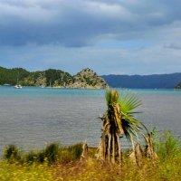 Крепостенка на вершине острова вид подальше :: Вячеслав Случившийся